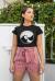 Honeybeast - fekete női póló