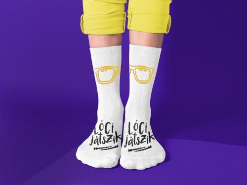 Lóci Játszik - zokni - Gold Record