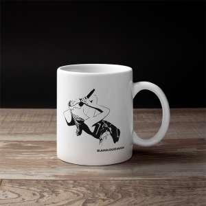 """Blahalouisiana - """"Túl távol elég közel"""" mug with silhouette"""