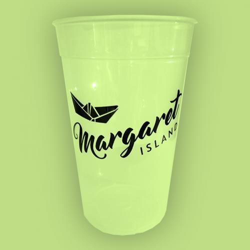 Margaret Island - sárga repohár (0,5 l) - Gold Record
