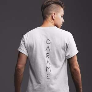 Caramel - Vízió T-shirt for men in white