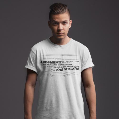 Caramel - Vízió fehér férfi póló