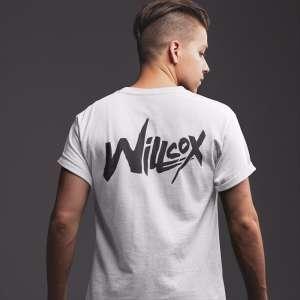Willcox - Fehér unisex póló