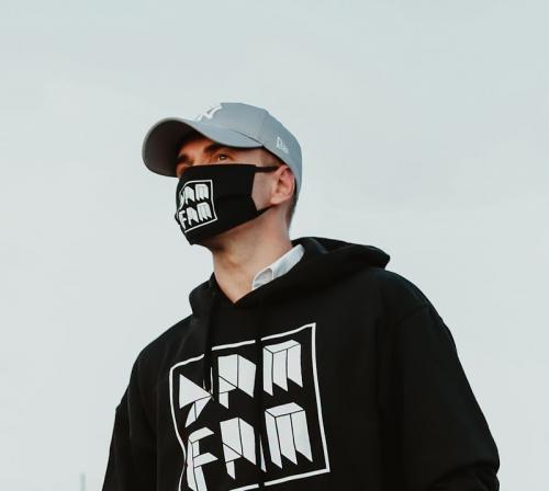 Yamina - YamFam fekete maszk