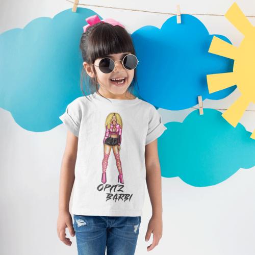 Opitz Barbi - Barbi rajzos gyerek póló  - Gold Record