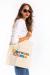 Carson Coma - Light tote bag with logo - Gold Record