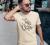 Honeybeast - Idevaló homok színű unisex póló