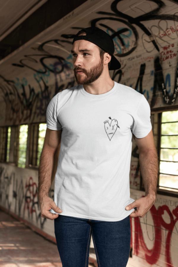 ByeAlex és a Slepp - Fehér logós póló