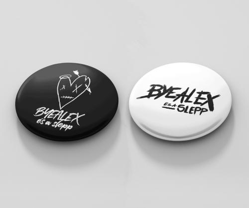 ByeAlex és a Slepp - Kitűzőcsomag