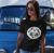 The Carbonfools - Fekete logós női póló