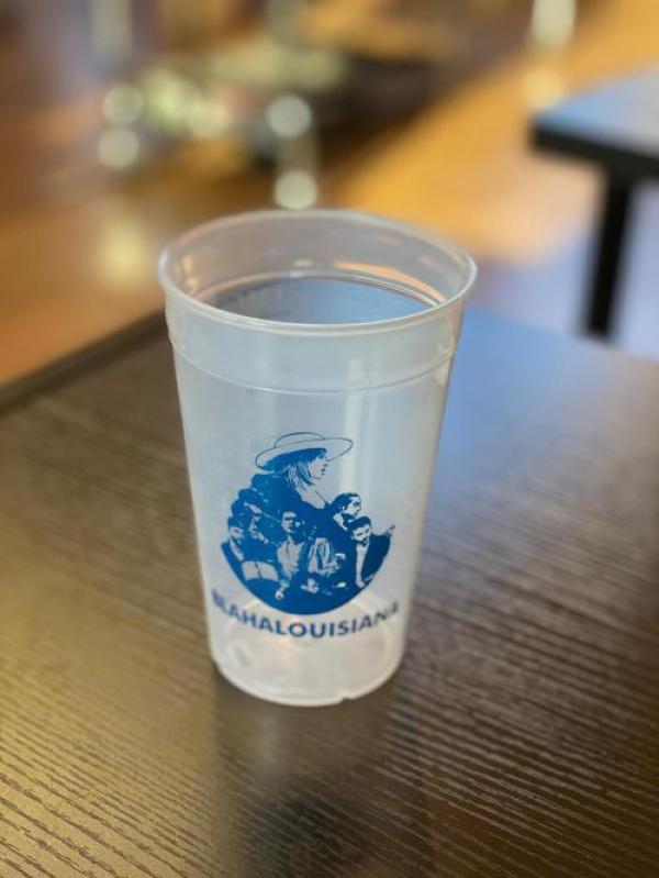 Blahalouisiana - Kék mintás repohár