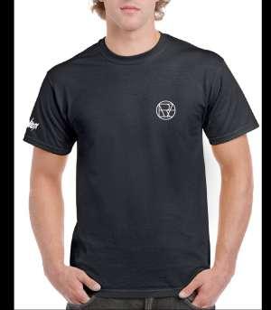 "Willcox - Black oversized ""OVER"" T-shirt"