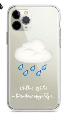 ByeAlex - Cloudy iPhone case