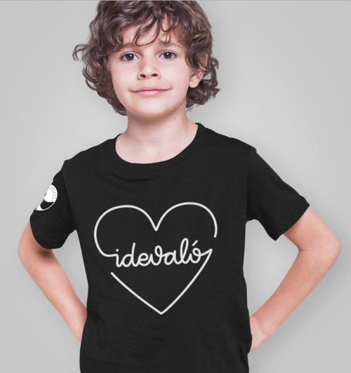 Honeybeast - Fekete Idevaló gyerek póló
