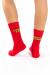 Carson Coma - Piros zokni