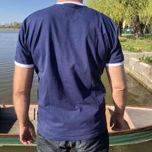 Rúzsa Magdi - Jel unisex póló - sötétkék