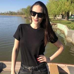 Rúzsa Magdi - RM unisex póló - fekete