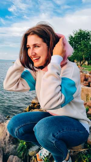 Margaret Island - Oversize pulóver - utolsó darab!