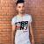 BRAINS - Unisex szürke póló