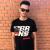 BRAINS - Unisex fekete póló