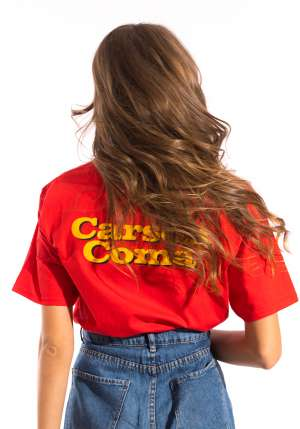 Carson Coma - Lesz, ami lesz piros póló
