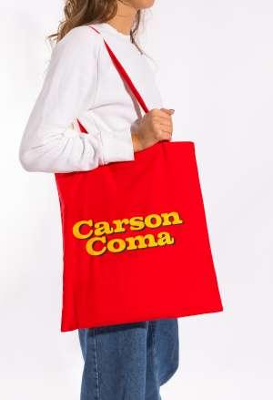 Carson Coma - Lesz, ami lesz vászontáska 2 színben