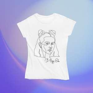 B. Nagy Réka - Sziluettes női póló