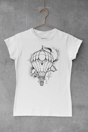 B. Nagy Réka - Léggömbös női póló
