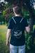 Margaret Island - Fekete logós tornazsák